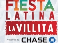 iHeartRadio Fiesta Latina La Villita presented by Chase cornhole game board design