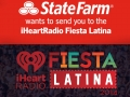 iHeartRadio Fiesta Latina presented by State Farm contest page